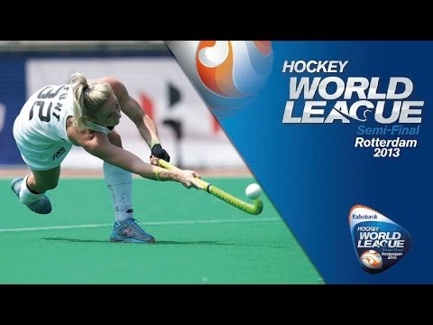 New Zealand vs Japan Women's Hockey World League Rotterdam Quarter Final [18/6/13]