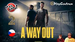 A Way Out | 2. Let's Play | Gameplay s Rudou a Honzou | PS4 Pro | CZ 1440p