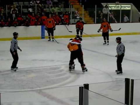 2009-09-25 Adirondack Phantoms - Albany River Rats Video
