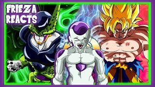 FRIEZA REACTS TO PERFECT CELL VS GOKU (CELL VS CHI-CHI PART 2)