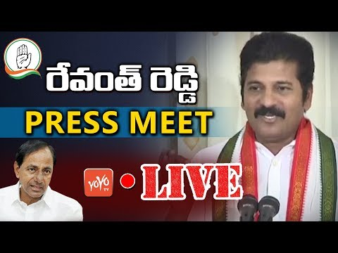 Revanth Reddy Press Meet LIVE |  CM KCR Comments | Telangana LIVE | YOYO TV Channel