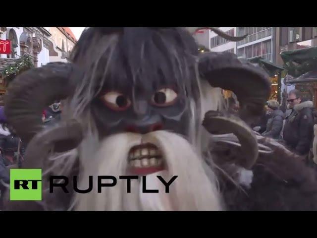 Germany: Meet Krampus, Santa's demonic Christmas helper