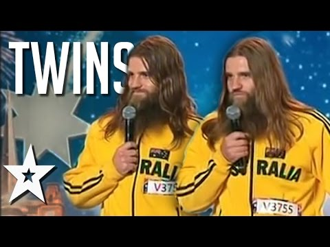 Amazing Identical Twins Around The World | Got Talent Global