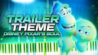 Teaser Trailer Theme - Disney Pixar's Soul // Piano Synthesia Cover & Tutorial