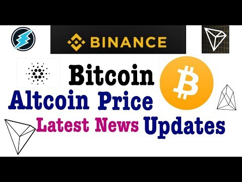 bitcoin btc altcoin price updates hindi latest news tron trx eos ada ripple ethereum etn eth crypto