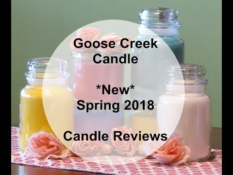 Goose Creek Candle Reviews :: 3 New Spring Scents!