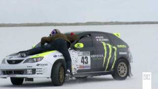 DC SHOES: KEN BLOCK AND TRAVIS PASTRANA AT THE SALT FLATS