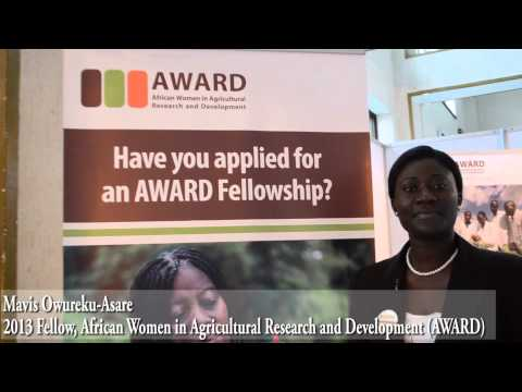 AASW6 is important for Women in Agricultural Research and Development