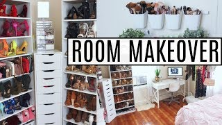 (10.4 MB) EXTREME Room Makeover | Re-Organizing, Cleaning, Decluttering Mp3