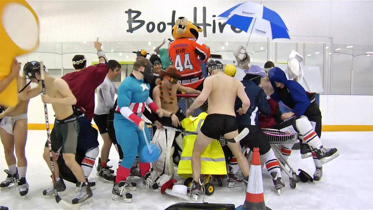 Harlem shake telford tigers edition ice hockey youtube