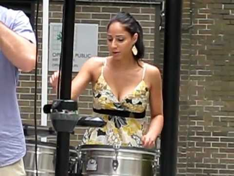 Jessica Rodriguez — Timbales Solo