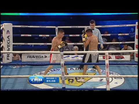 SERGIO QUINTANA vs SANDRO MATIAS - TRB BOXEO 9-12-2016