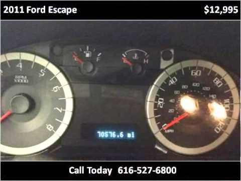2011 Ford Escape Used Cars Ionia MI