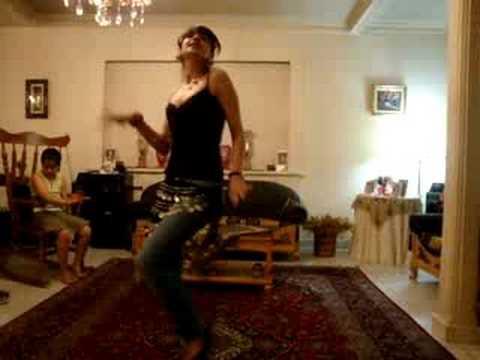 Iranian Girl Arabic Dancing Video