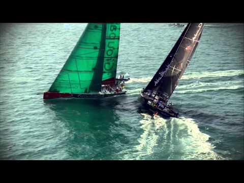 Home Win for Abu Dhabi in Etihad Airways In-Port Race | Volvo Ocean Race 2011-12