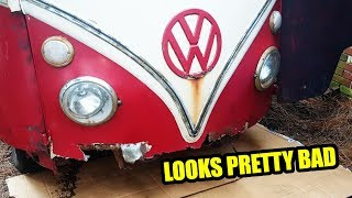 Front End Demolition and Rebuild - 1967 VW Bus - Gregory - 7