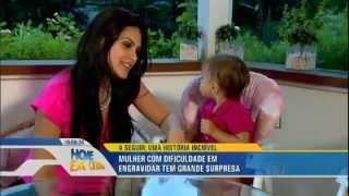 hoje em dia SOS Mãe Ana Hickmann se diverte com Natália Guimarães e suas filhas gêmeas 27 02 2015 mi