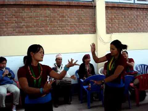 Jhim Jhim Sanu (women Panche Baja Dancing) video