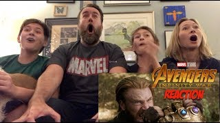 Marvel Studios' Avengers: Infinity War - Official Trailer 2 - REACTION