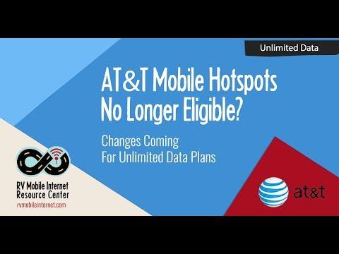 AT&T Mobile Hotspots No Longer Eligible on Unlimited Plus & Choice Plans?
