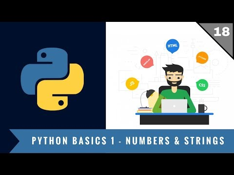 Python Tutorials | Beginners | Basics | Numbers & Strings | 01 | Full Stack