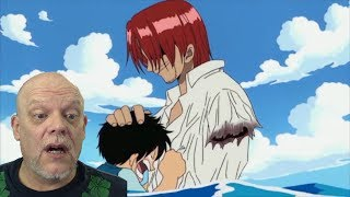 "REACTION VIDEOS | ""One Piece"" Clip - Shanks Says: No Arm, No Problem! 😀"