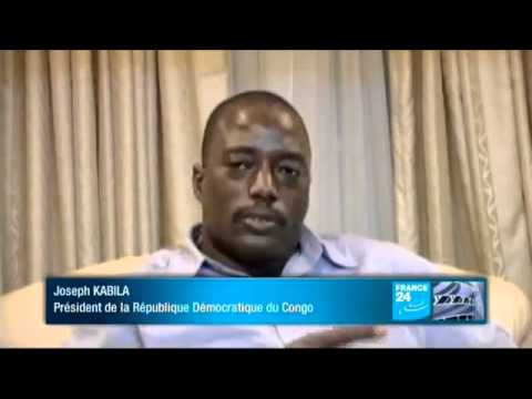 Interview de Joseph Kabila Kabange  à France24  suivez svp  - YouTube.flv