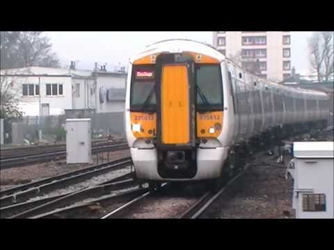 Trains at East Croydon | (SouthEastern Diverts) | 26.03.11