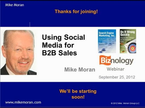 Using Social Media for B2B Sales
