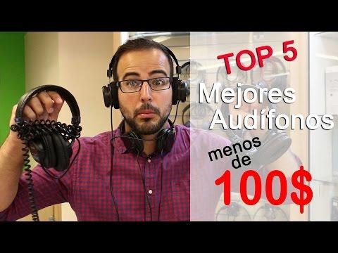Mejores Audífonos o Auriculares por debajo de 100 dólares. 2015