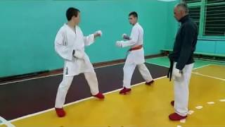 - Karate training 4 -