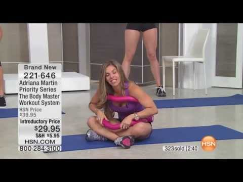 Adriana Martin Priority Series Body Master Workout System on HSN