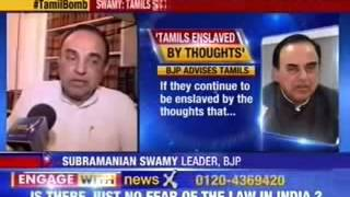 Dr  Subramanian Swamy advises Tamil parties on staying relevant