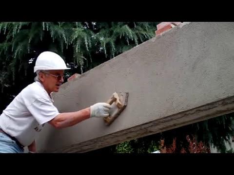 Revoque regleado y fratasado en paramento vertical 2ª parte  Vídeo nº 46 .Actualizado