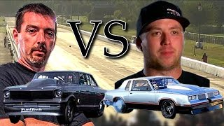 Street Outlaws: Daddy Dave blows up his motor - Big ball of fire