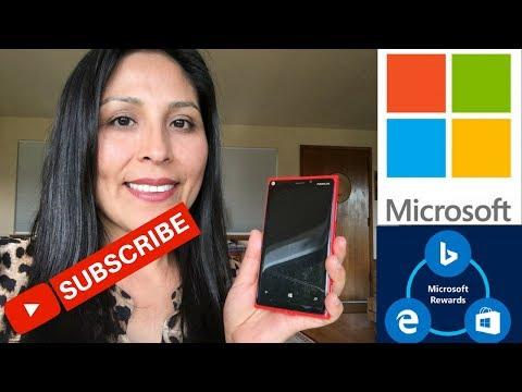 GRATIS tarjetas de regalo gratis con Microsoft Rewards y Bing