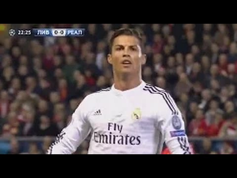 Cristiano Ronaldo Vs Liverpool Away (22 October 2014) Hd 720p video