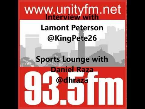 Unity FM 93.5 Birmingham Interview With  Lamont Peterson (IBF Light Welterweight World Champion)