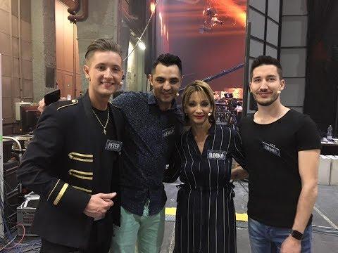 Pál Dénes&Keresztes Ildikó&Peter Srámek&Oláh Gergő a TV2 BUMM! játékában
