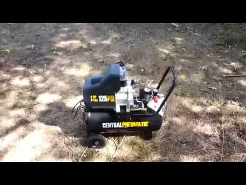 Harbor Freight 8Gal Compressor Review