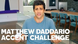 Matthew Daddario Reads His Tweets  With Accents
