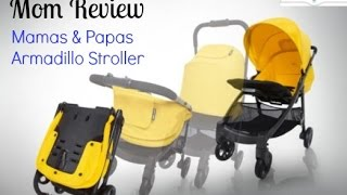 Mom review and demo of the Armadillo Stroller from Mamas and Papas