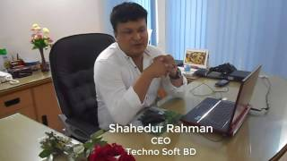 Techno Soft BD র ১ম বর্ষ পূতী।