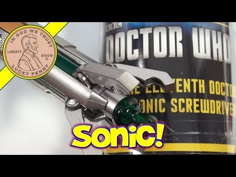 Doctor Who The Eleventh Doctor's Sonic Screwdriver. Underground Toys BBC 2012