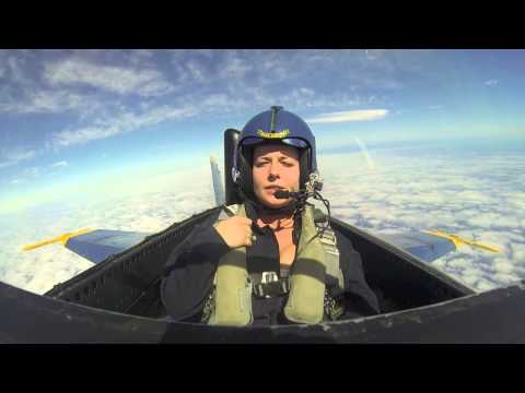 Katie Green's Blue Angel Flight Experience (shorter) video