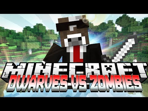 Minecraft DWARVES VS ZOMBIES Server Minigame ( DvZ in Minecraft )