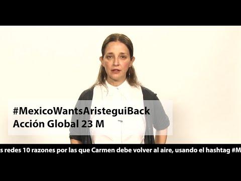 #MexicoWantsAristeguiBack ¡Súmate a la Acción Global!