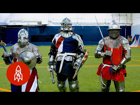 Channel Your Inner Knight With the Ultimate Combat Sport