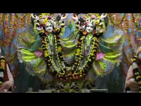 Iskcon Vrindavan Evening Aratik video