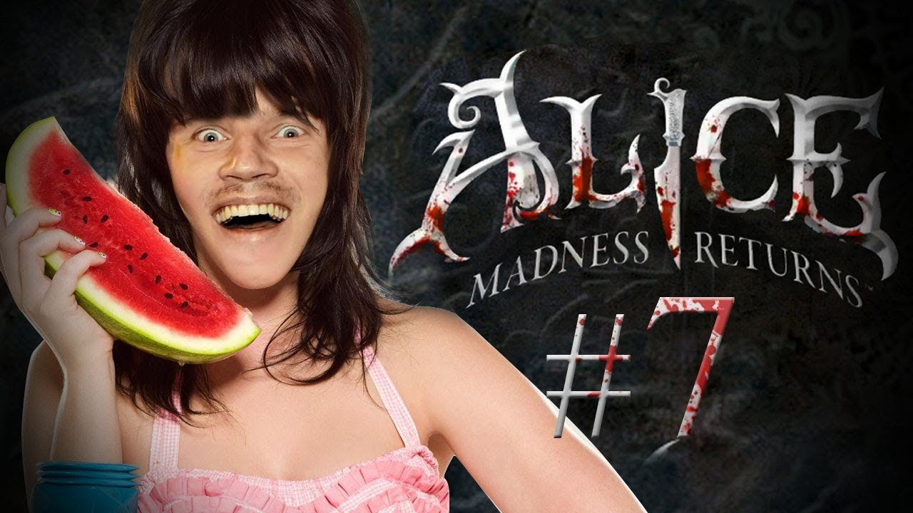 Pewdiepie plays Alice: The Madness Returns - Part 7